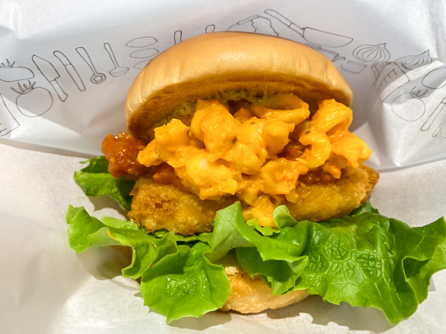 Mos Burger's new Mac and Cheese burger: Does it taste as good as it looks?
