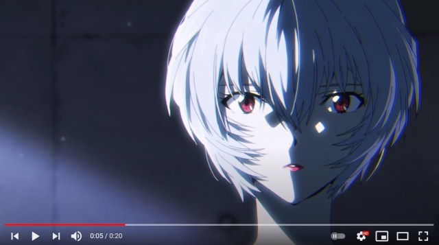 Evangelion's Rei Ayanami stars in commercial for Japanese lip rouge
