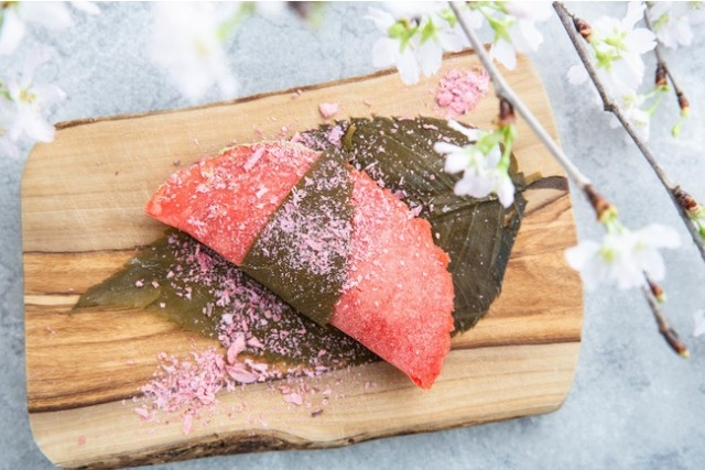 Sakura tacos? The Tokyo treat we didn't know we needed until right now