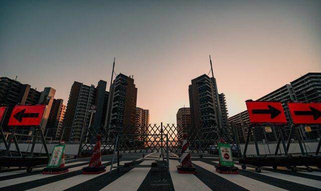 Tokyo Olympics Village looks like an eerie ghost town