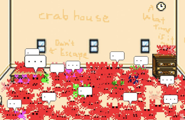 We try out the hot new social media app that everyone's talking about, Crabhouse!