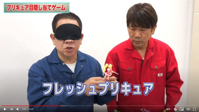 49-year-old comedian can identify any Pretty Cure figure blindfolded