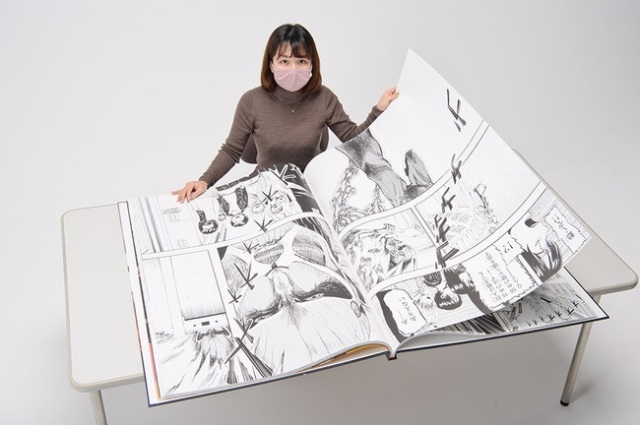The Titan-Sized Attack on Titan manga is freakishly huge, breaks world record for largest comic