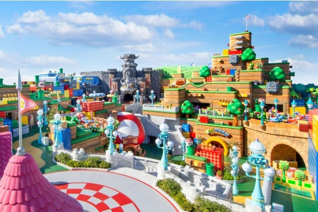 New opening date announced for Japan's Super Nintendo World, and it's just around the corner