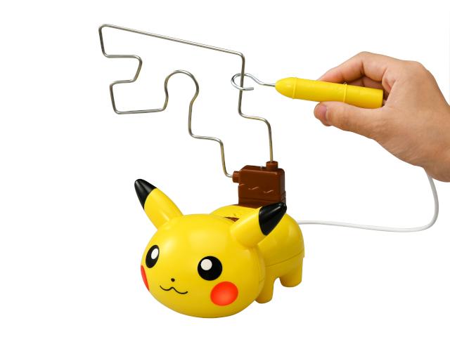 """Electric Shock Warning! Electric shock Pikachu"" released in Japan"
