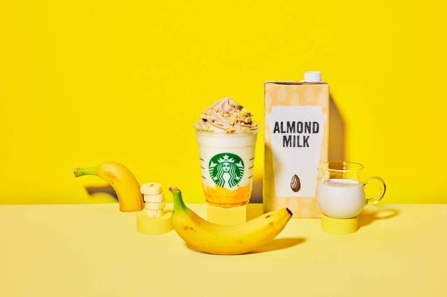 Starbucks Japan's new Frappuccino contains first-ever almond milk whipped cream topping