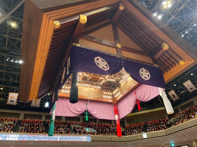 What's it like to watch a sumo tournament in Tokyo during the pandemic?