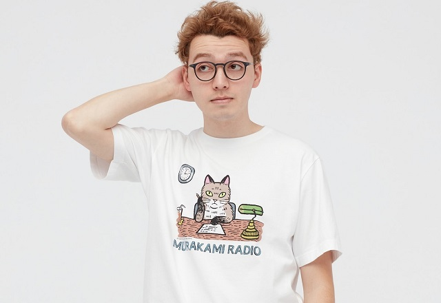 Haruki Murakami, Uniqlo team up for T-shirt line saluting Japan's most celebrated modern author