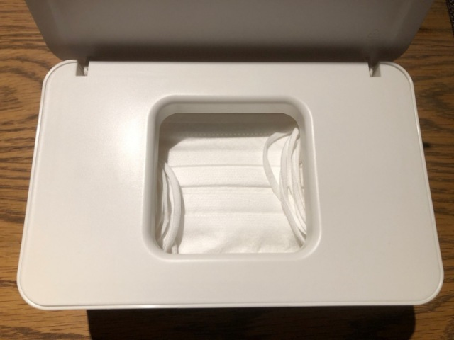 Pandemic life hack: This Muji wet tissue box is perfect for storing disposable masks