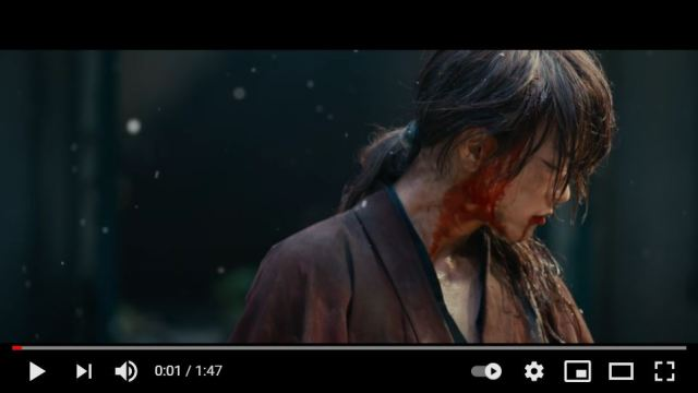 The trailer for the fourth live-action Rurouni Kenshin film has dropped!