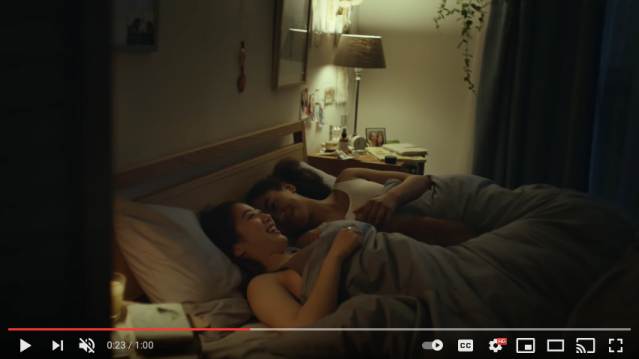 UNIQLO's newest commercial features AIRism casual wear and heartwarming sapphic love