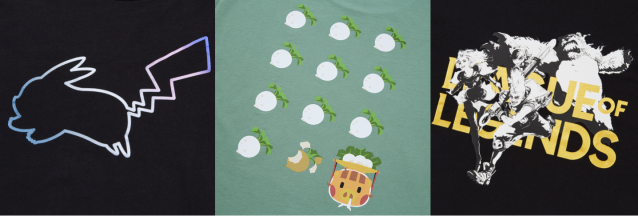 Uniqlo's new graphic tee collab features Animal Crossing, Pokémon, League of Legends, and more!