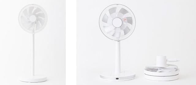 Japanese company creates ultra-compact foldable electric fan
