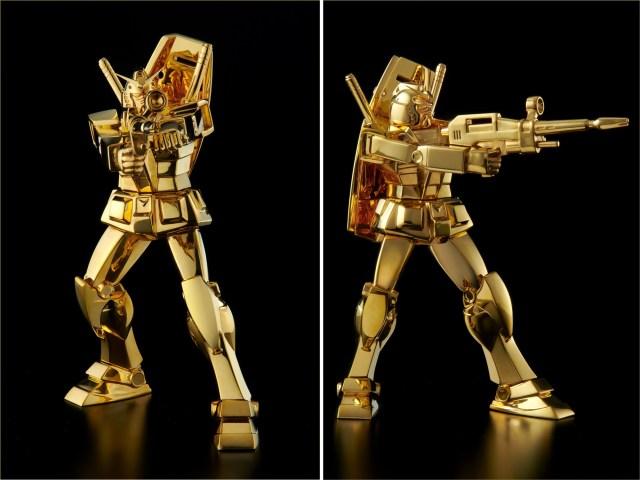 Gorgeous gold Gundams are good-God expensive【Photos】