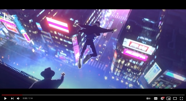 Japanese anime commercial plays out like an epic neo-Tokyo adventure 【Video】