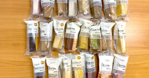 Muji cake mania! Which of the 23 flavors of cake they sell are the best?