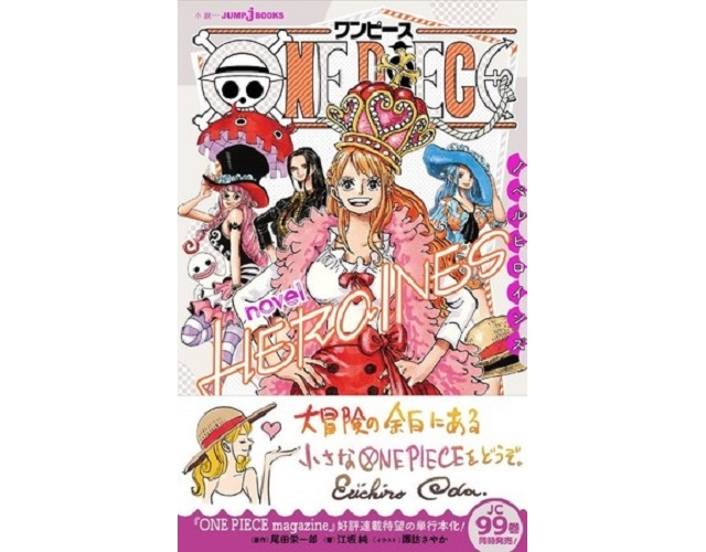 Female cast of One Piece takes center stage with One Piece Novel Heroines