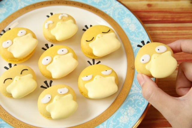 Pokémon fan chef's Psyduck sweets are so cute they're making our head hurt【Photos/Video】