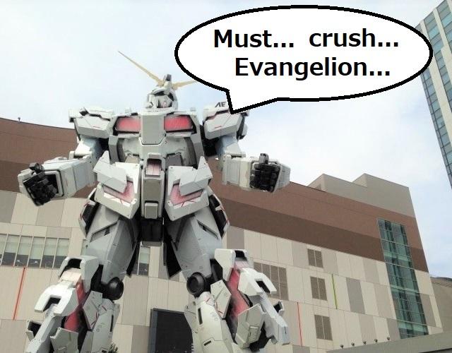 Creator of Gundam says his goal is to crush Demon Slayer and Evangelion