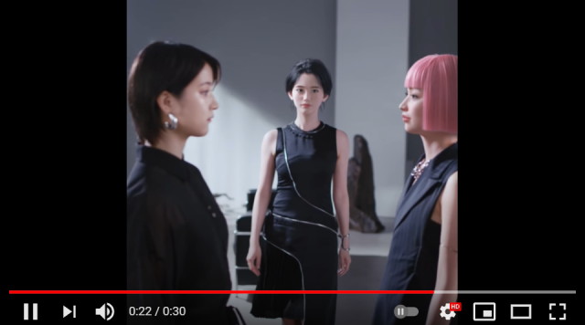 Virtual and real Japanese models collab for makeup commercial – but who's the real one?