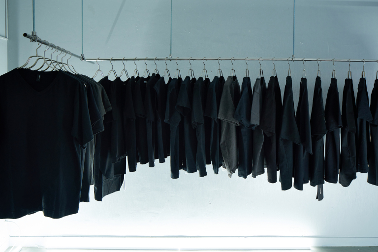Tokyo store that only sells black shirts sheds light on why it's opening mid-pandemic