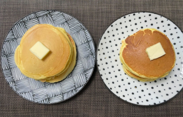 We test Japanese sweets company's claim: can one ingredient change pancakes from fluffy to chewy?