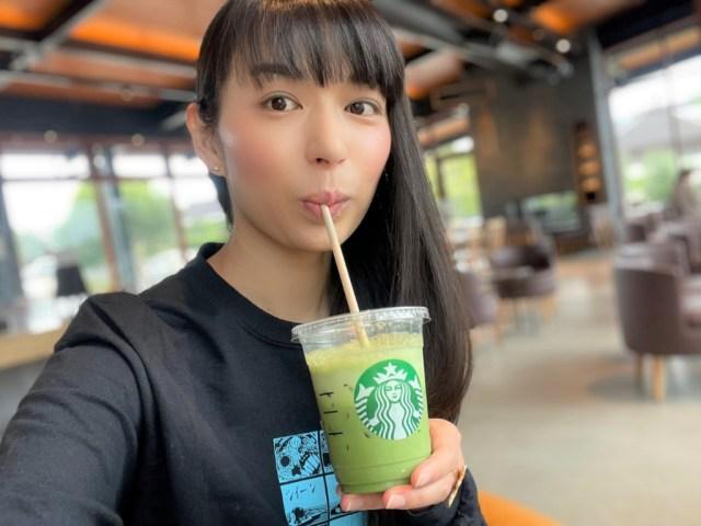 Trying Starbucks Japan's secret limited-time Iced Matcha Tea Latte 【Taste Test】