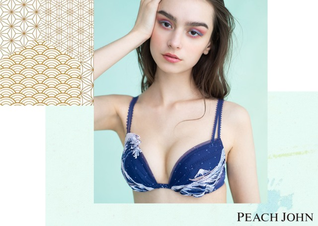 New Mt Fuji bra set lets you wear Japanese art under your clothes