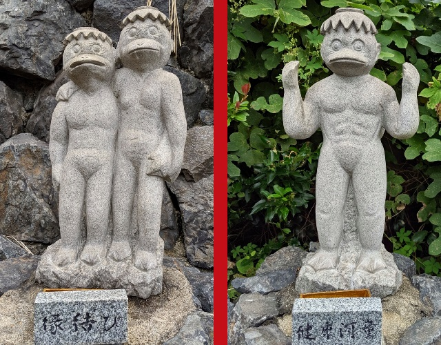 """A visit to """"the most blessed kappa statues in all of Japan""""【Photos】"""