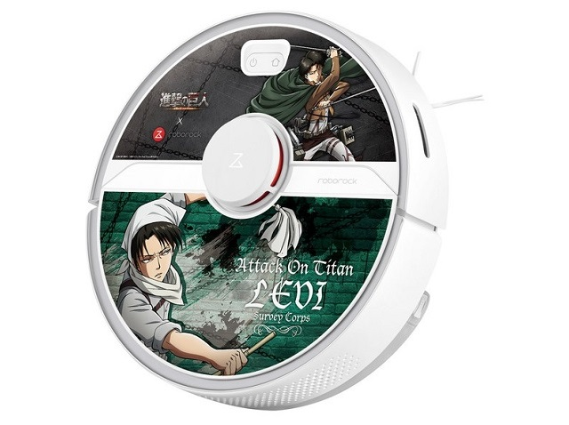 """Talking Attack on Titan anime character robot vacuum promises to clean your """"shitty"""" room"""