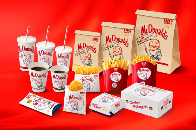 Original McDonald's character Speedee makes a comeback in Japan