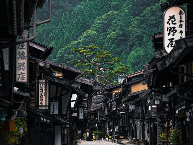 It's like the samurai era never ended at this beautiful Japanese mountain town
