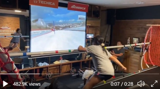 This hotel in the mountains of Japan has an awesome hi-tech ski/snowboard simulator【Videos】