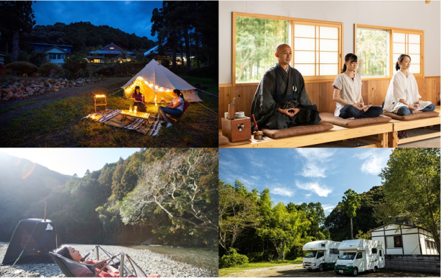 Refresh your mind, body, and soul at Temple Camp Daitaiji, the first temple to open to campers