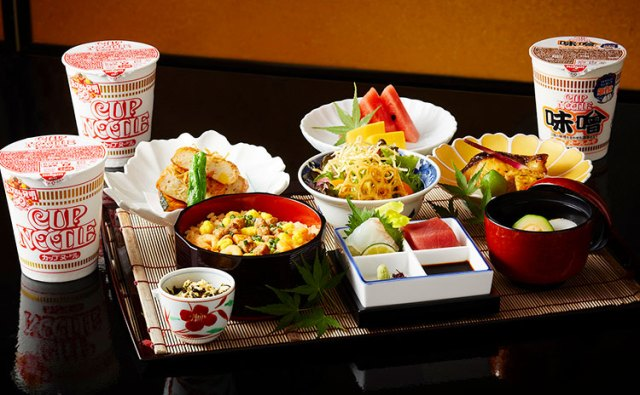 Tokyo luxury hotel teams up with Cup Noodle for 50th anniversary ramen cocktails and course meals