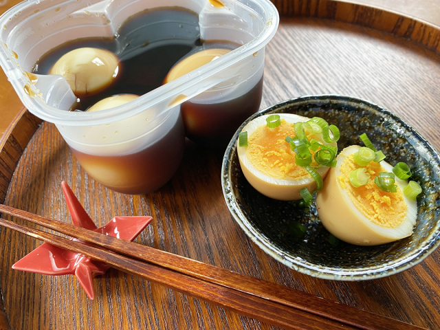 Make soy sauce eggs in minutes with popular new Japanese product from Daiso
