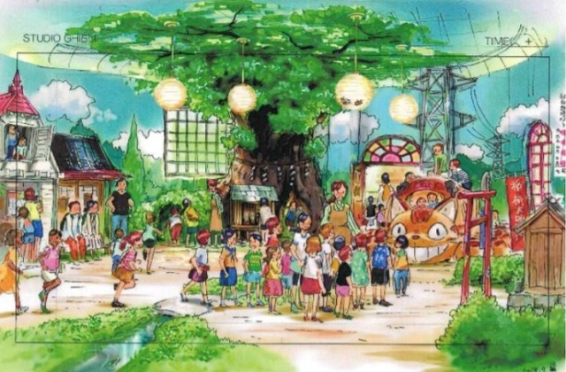 Ghibli theme park will have Totoro playroom, Kiki's house, and let you work Irontown's bellows