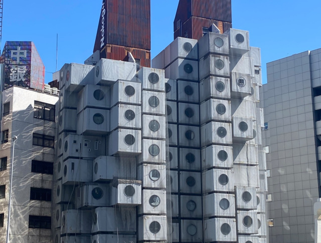 Nakagin Capsule Tower in Tokyo is scheduled to be demolished, needs your help