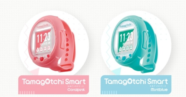 Newest Tamagotchi product is shaped like a smart watch that you can feed, evolve and chat with
