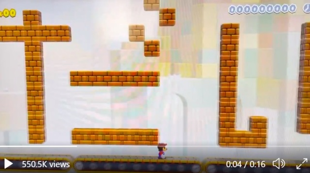 Japanese Mom's son makes Mario Maker course just for her, easy to clear, impossible to forget【Vid】