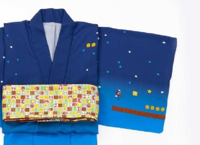 Super Mario kimono, Bowser underwear part of gigantic Nintendo/Japanese fashion brand collab