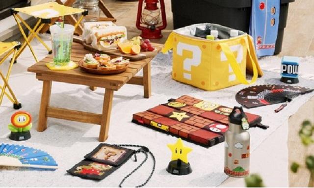 Make summer super with Nintendo's new Super Mario outdoor goods lineup【Photos】