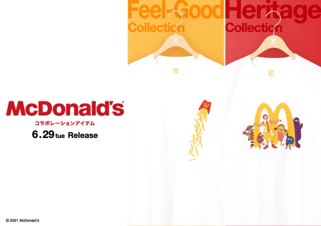 McDonald's celebrates 50 years in Japan with limited-edition clothing collections