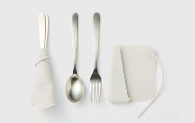 What do you think of Muji's new sustainable cutlery cover?