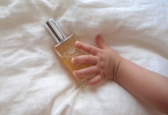 """Does this """"Mother Milk"""" eau de toilette really smell like a newborn baby? We ask a baby"""