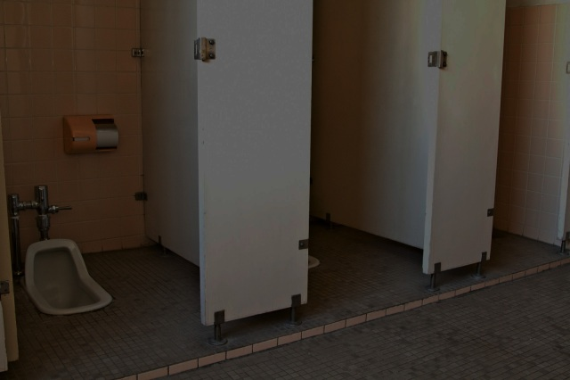 Wakayama man stealing uniform from school caught by mysterious man in restroom in middle of night