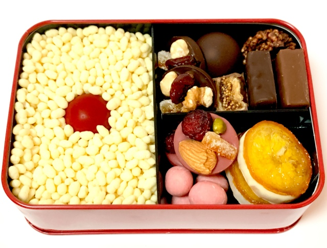 We tried a gourmet chocolate bento box worth 2,700 yen, and every bite was worth it