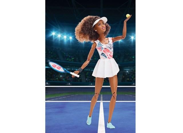 Naomi Osaka's dream of having her own Barbie doll comes true