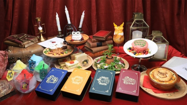 Two Harry Potter cafes opening in Japan, serving up Gryffindor bento and Hagrid misspelled cakes