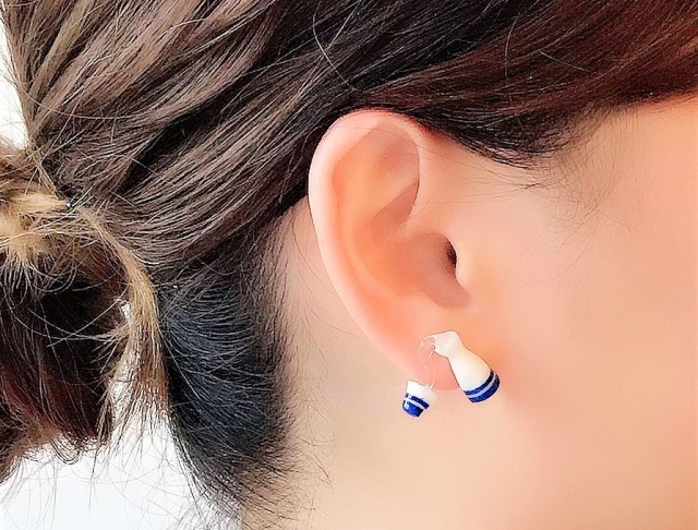 New sake earrings let you wear your love for Japanese rice wine on your ears